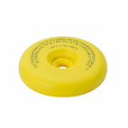 TECTUS ATEX Certified 34mm on-metal LF EM4200, Yellow - 50 tags